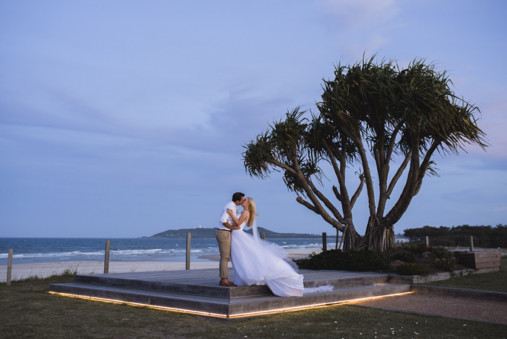 Iconic Byron Bay wedding photography