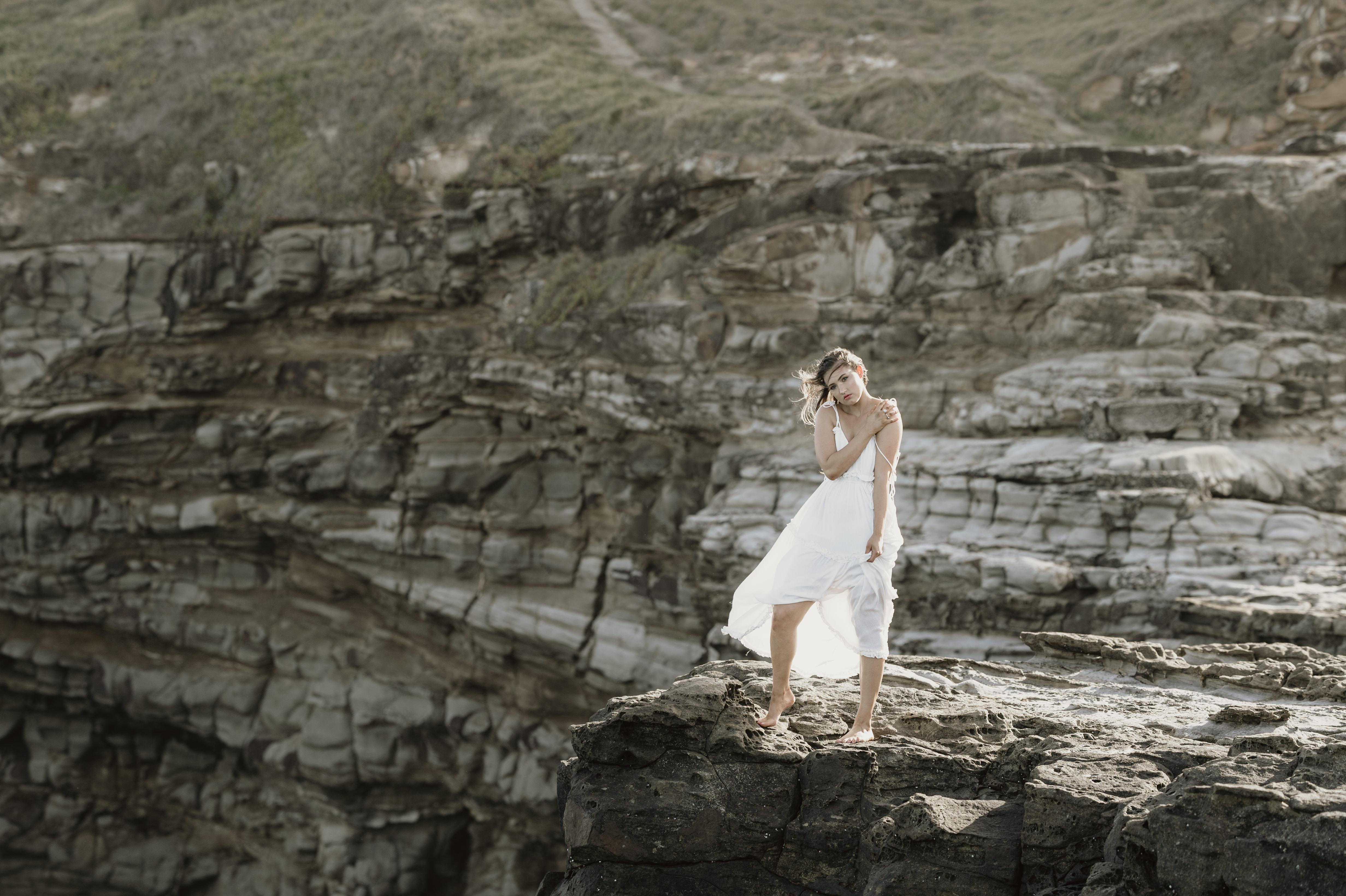 Coastal fashion photography